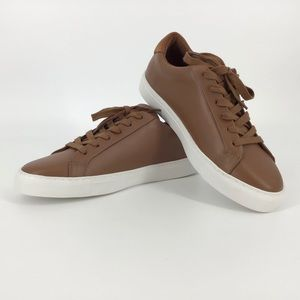 Kurt Geiger London Tan Leather Trainers, M7/W9
